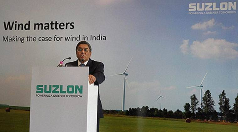 Suzlon group, Suzlon group gujarat, renewable energy, gujarat renewable energy, Suzlon renewable energy, wind energy, Tulsi Tanti, renewable energy india, renewable energy gujarat, india news