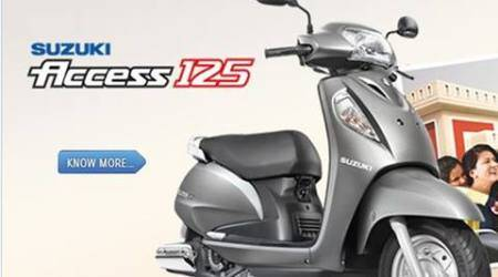suzuki, suzuki scooter, scooters, Access 125, suzuki Access 125, new scooters, new scooters in 2016