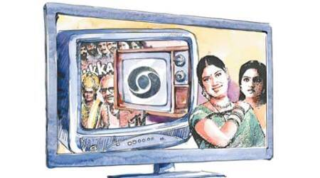 indian television, indian television history, doordarshan, doordarshan autonomy, k serials, indian television entertainment shows, indian television melodrama, india amercian shows, indian news shows, television news, entertainment news