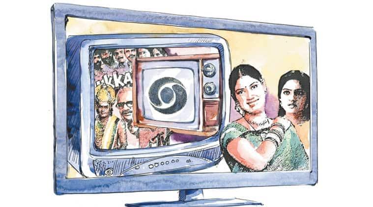 indian television, indian television history, doordarshan, doordarshan autonomy, k serials, indian television entertainment shows, indian television melodrama, india amercian shows, indian news shows, television news, entertainment news