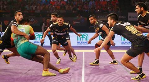 Pro Kabaddi season 4, Pro Kabaddi season 4 news, Pro Kabaddi season 4 updates, Telugu Titans vs Patna Pirates, sports news, sports, kabaddi news, kabaddi
