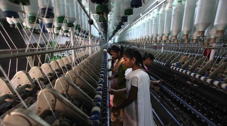 textile mill, non small scale industry, indian express
