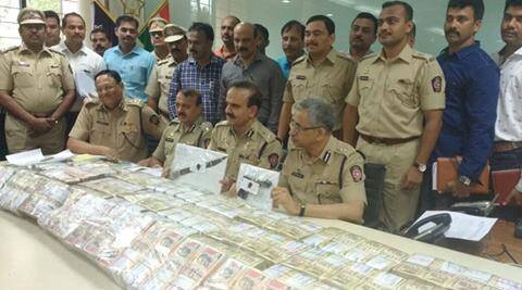 thane police, thane police cash van, cash van dacoity, cash van stolen mumbai, 9 crore cash van, 9 crore cash recovered, mumbai police 9 crore, mumbai police crack theft, india news