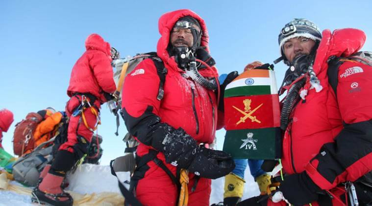 Arjun Kumar Thapa, Siachen, Mount Everest, Everest Marathon, news, india news, world news, indian army, north pole, south pole