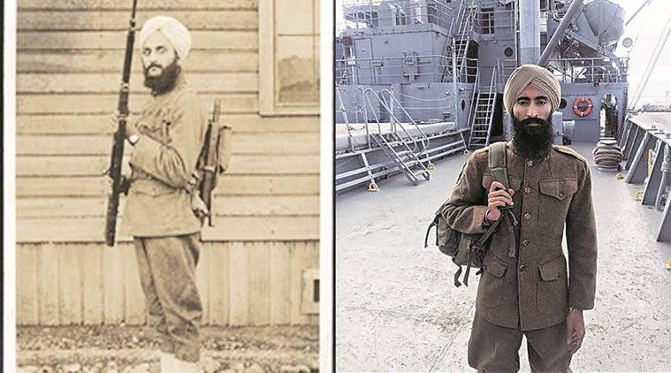 Sikh soldier, Sikh soldier in US army, movie based on Sikh soldier, Bhagat Singh Thind, World War I, India news