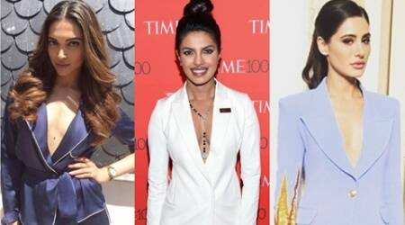 Deepika Padukone, Priyanka Chopra, Nargis Fakhri: Celebs who ditched the gown for suits