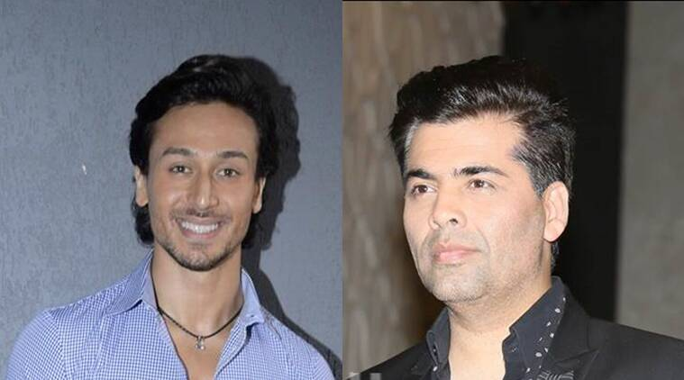 Tiger Shroff, Karan Johar, Student of the year 2