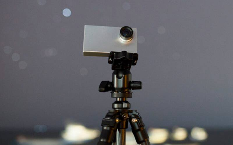 The Tiny1 camera shows stars and constellations in real time and has built-in search too (Source: Indiegogo)
