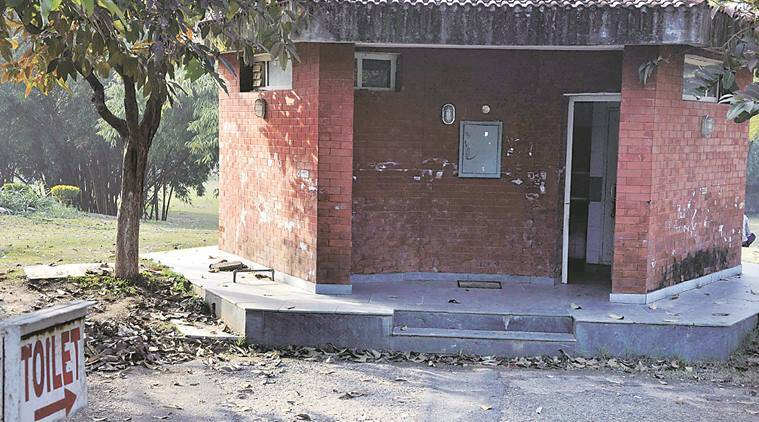 Bad condition of Public Toilets in Chandigarh