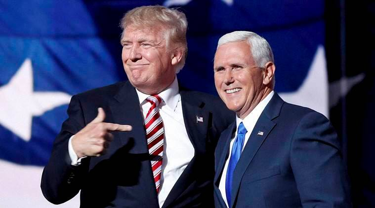 mike pence, donald trump, cleveland, republican convention, ted cruz, presidential elections
