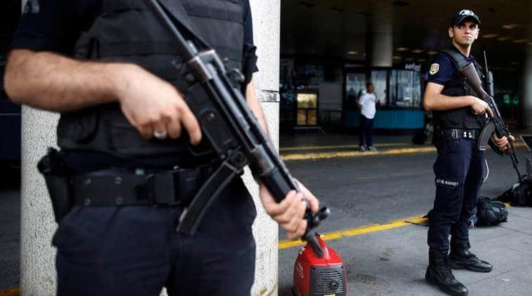 Turkey gunshots, Istanbul airport, Ataturk airport firing, Turkey news, world news, latest news, indian express