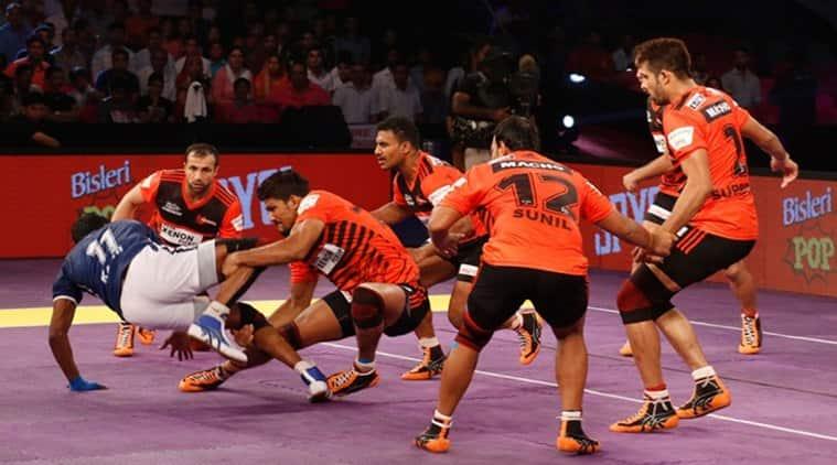 Pro Kabaddi League, PKL, Pro Kabaddi League score, PKL results, U Mumba vs Dabang Delhi, Dabang Delhi vs U Mumba, Mumbai vs Delhi, Delhi vs Mumbai, U Mumba s Daband Delhi result, Kabaddi