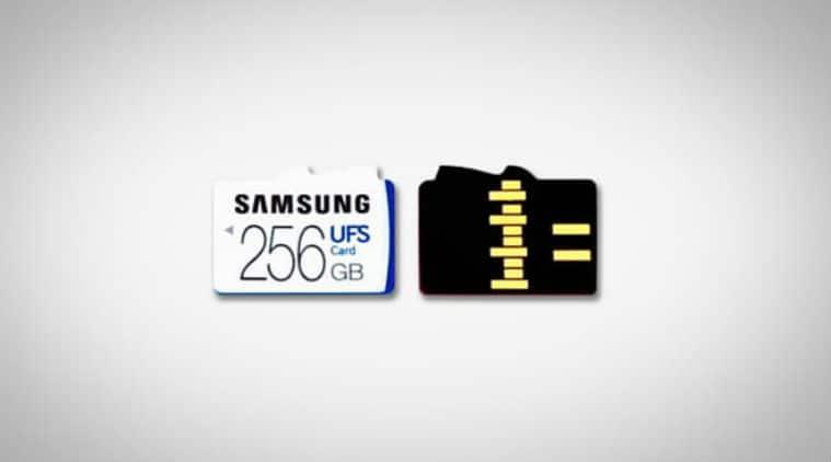 Samsung UFC, Samsung UFC cards, Samsung UFC launch, universal flash storage