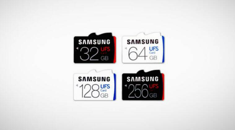 Samsung UFC, Samsung UFC cards, Samsung UFC launch, universal flash storage