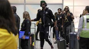 Usain Bolt arrives in Brazil for shot at immortality