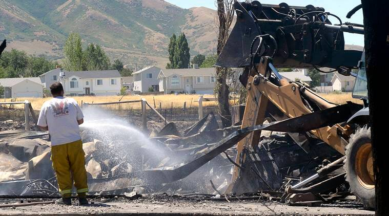 us fires, us wildfires, utah wildifre, wildfires in utah, utah fire destruction, utah fire damage, utah news, us news, world news, latest news