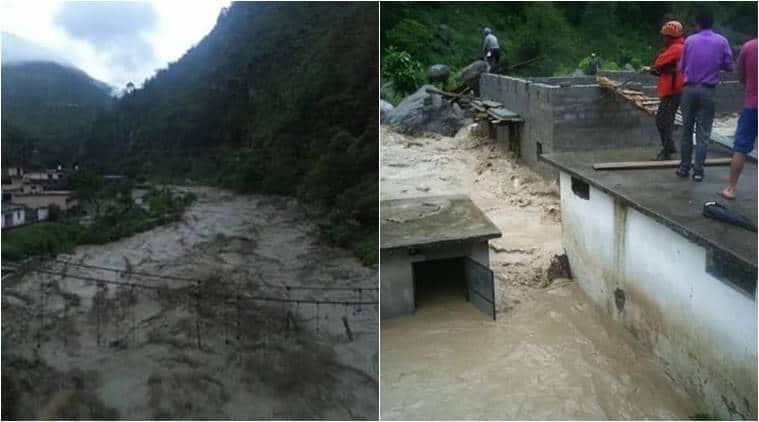 Uttarakhand, Cloudburst, Uttarakhand flood, Uttarakhand Cloudburst, Uttarakhand Cloudbursts, Uttarakhand Cloudbursts, Uttarakhand heavy rains, heavy rains, Uttarakhand landslide, Uttarakhand news