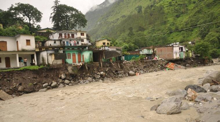 Uttarakhand Cloudburst, cloudbursts in Uttarakhand, NDRF, SDRF, Pithoragarh district, Uttarakhand Weather, Uttarakhand News, Indian Express news