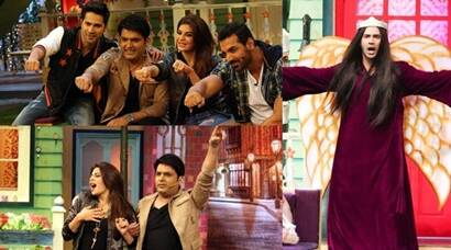 Varun Dhawan dresses as Angel Taher Shah for The Kapil Sharma Show