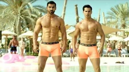 I was pretty cool posing in my briefs in Dishoom, says Varun Dhawan