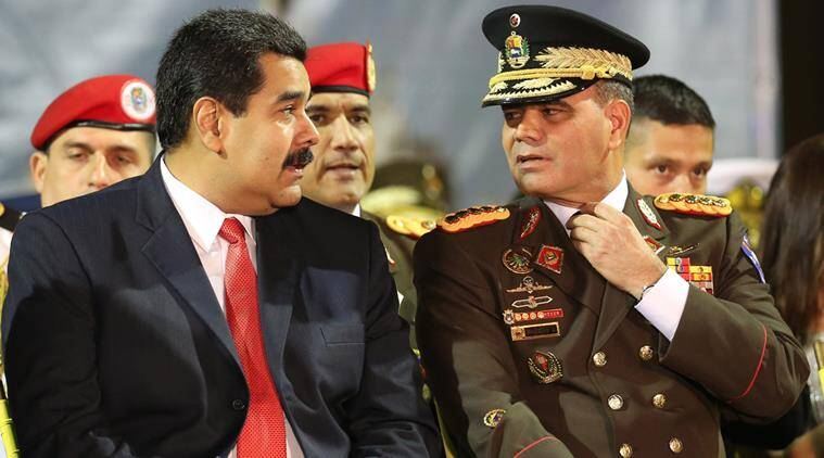 Vladimir Padrino Venezuela, Donald Trump intervention threat, Venezuela, Nicolas Maduro, Venezuela's foreign ministry, Donald Trump Venezuela, US-Venezuela, World News, Indian Express news