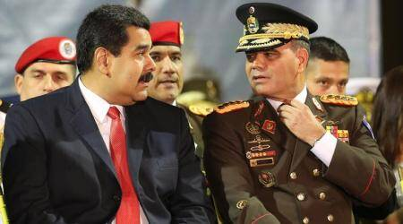 Venezuela defense chief Vladimir Padrino calls Donald Trump's intervention threat 'crazy'