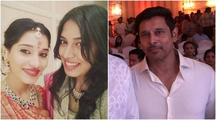 Tamil Star Vikrams Daughter Gets Engaged Entertainment News The