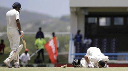 Virat Kohli's maiden double spells trouble for West Indies in Antigua