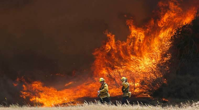 LA, Los angeles, Wildfire, LA wildfire, california, Santa Clarita, california wildfire, Sand Fire, latest news, latest world news, US, America