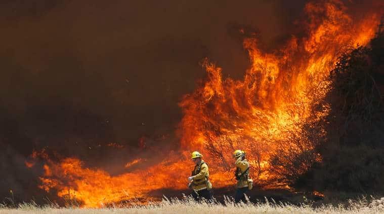 LA, Los angeles, Wildfire, LA wildfire, california, Santa Clarita, california wildfire, Sand Fire, latest news, latest world news, US, America