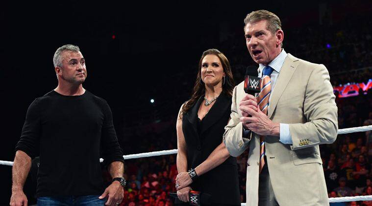 WWE Raw, Raw, WWE Raw results, WWE raw 11 july, wwe raw wrestling, shane mcmahon, vince mcmahon, stephanie mcmahon, smackdown commissioner, raw commissioner, wwe, wwe results