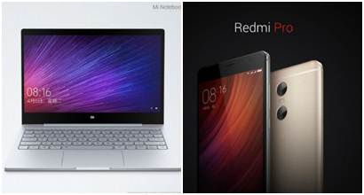 Xiaomi Redmi Pro and Mi Notebook Air launched in China: Key specifications and price