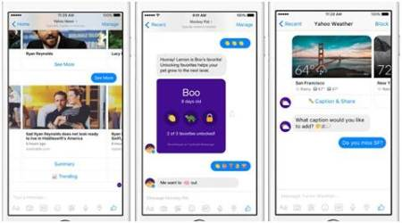 Yahoo, Facebook bots, Facebook Messenger, Facebook bots for Messenger, Yahoo new bots, Yahoo monkey bot, chatbots, artificial intelligence, AI, technology, technology news