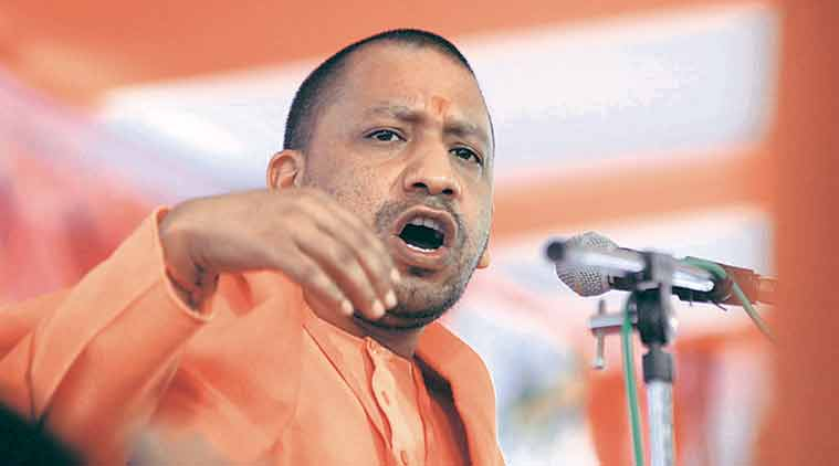 yogi adityanath, uttar pradesh elections, up polls, up elections 2017, akhilesh yadav, BJP, BJp attack akhilesh, CM akhilesh, samajwadi party, SP congress alliance, indian express news, india news, elections updates
