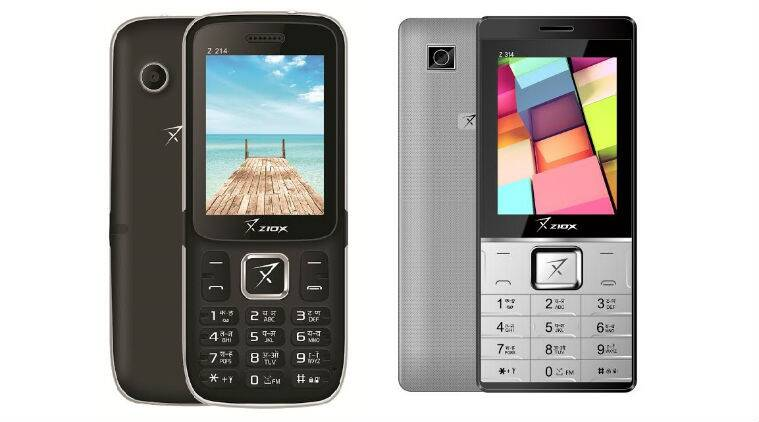 ziox, ziox mobile, ziox feature phone, z214i, z314, z214i features, z214i price, z314 features, z314 price