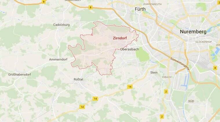 Map Of Zirndorf Germany.Germany Explosion Blast Outside Migration Office In Zirndorf