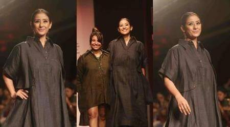 LWF 2016: Manisha Koirala walks the ramp for Chola