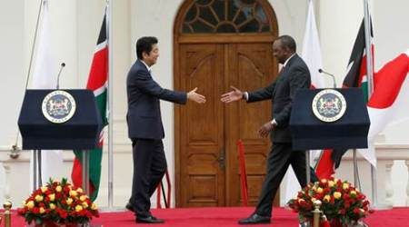 Japan, Shinzo Abe, Kenya, Uhuru Kenyatt, Japan Shinzo Abe, Kenya Uhuru Kenyatt, Tokyo International Conference on African Development, TICAD VI, tokyo conference, Africa, Japan Africa, latest world news, latest news
