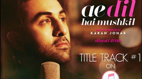 Ranbir Kapoor performed on Ae Dil Hai Mushkil  song before I gave it my voice: Arijit Singh