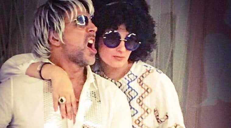 Akshay Kumar, Happy Friendship Day, Akshay friendship day, rustom, rustom film, Akshay twinkle, Akshay twinkle khanna pic, twinkle khanna, twinkle khanna twitter, Akshay Kumar friendship day