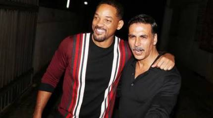 Will Smith parties with Akshay Kumar at his home in Mumbai, see pic