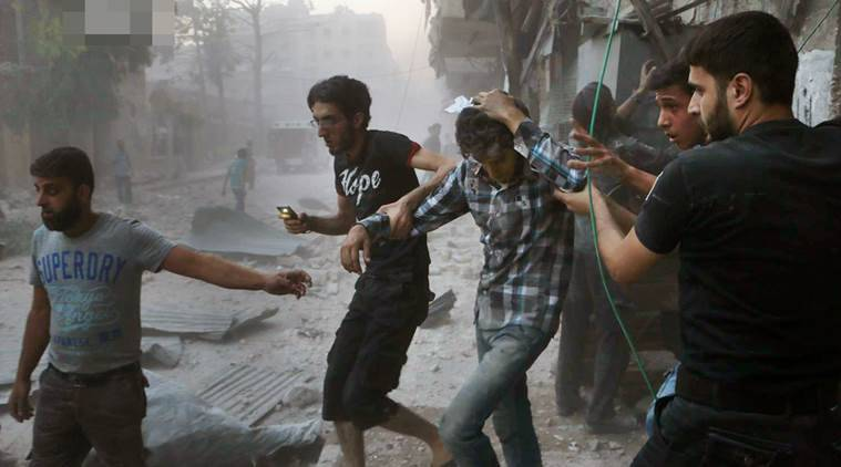 Syria's war, now in its sixth year, is raging beyond Aleppo, claiming dozens of lives every day. (Aleppo Media Center via AP, File)