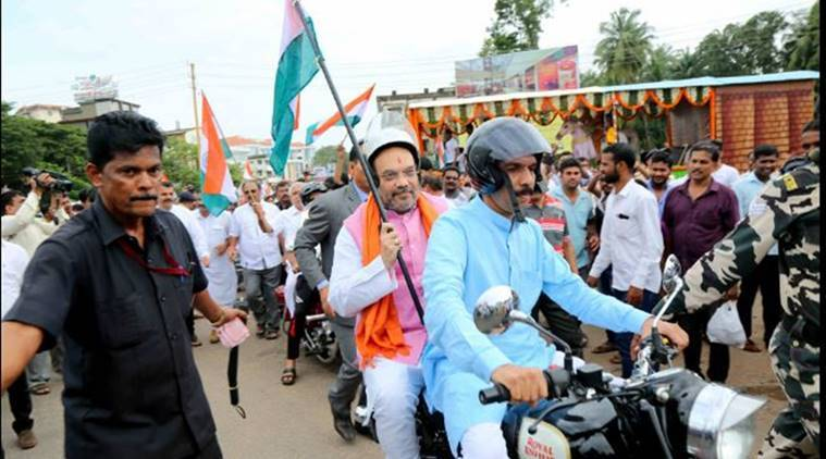 Amit Shah, Nationalism, Freedom of Speech in India, Amit Shah at Mangalore University, Tiranga Yatra, BJP Tiranga Yatra, India news,