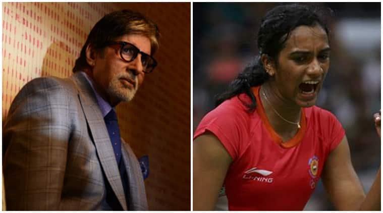 PV Sindhu, Amitabh Bachchan, Shobhaa De, Rio Olympics, Amitabh Bachchan image