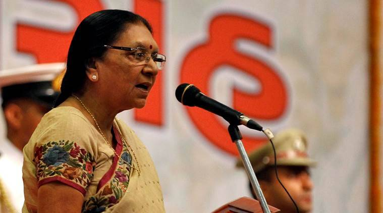 former CM Anandiben Patel had developed the project on a fast track basis. File Photo/Agencies