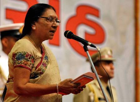 Former Gujarat CM Anandiben Patel appointed as Madhya Pradesh Governor