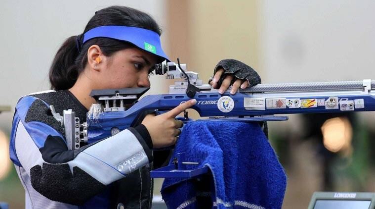 Issf World Cup 2019 Day 1 Highlights: Apurvi Chandela Wins Gold In 10m Air Rifle