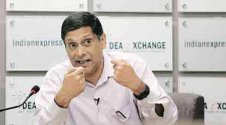 FRBM , FRBM report, FRBM Committee report, fiscal target, Arvind Subramanian, NK Singh, Budget, Gross Domestic Product, economy, indian express news
