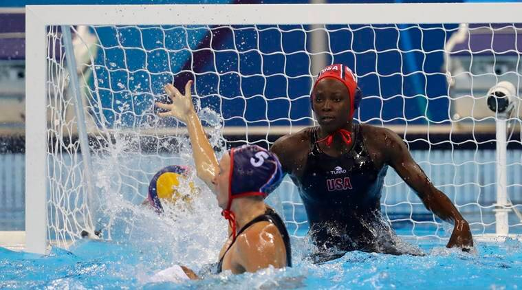 Ashleigh Johnson, Ashleigh Johnson US Water POLO, Ashleigh Johnson US, Ashleigh Johnson water polo, Hungary water Polo, US, Hungary, Rio 2016 Olympics, water Polo, Rio, Olympics