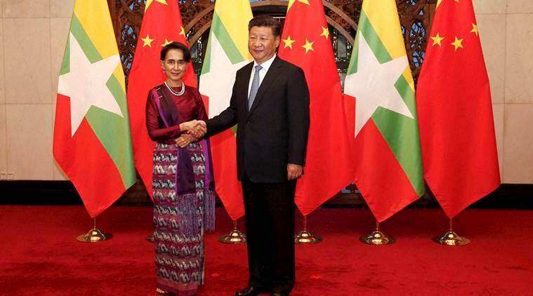 china, myanmar, china projects in myanmar, Myitsone megadam project, china myanmar relations, Aung San Suu Kyi china, world news, indian express news